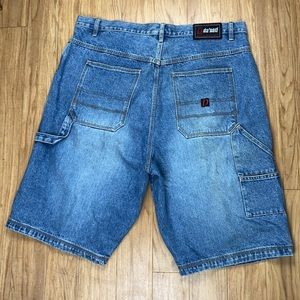 Da'nati Vintage Style Carpenter Jean Shorts 42